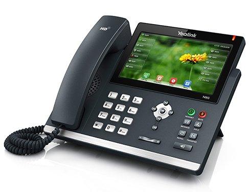 IP-telefon - Yealink T48G med farvedisplay og 6 samtidige samtaler